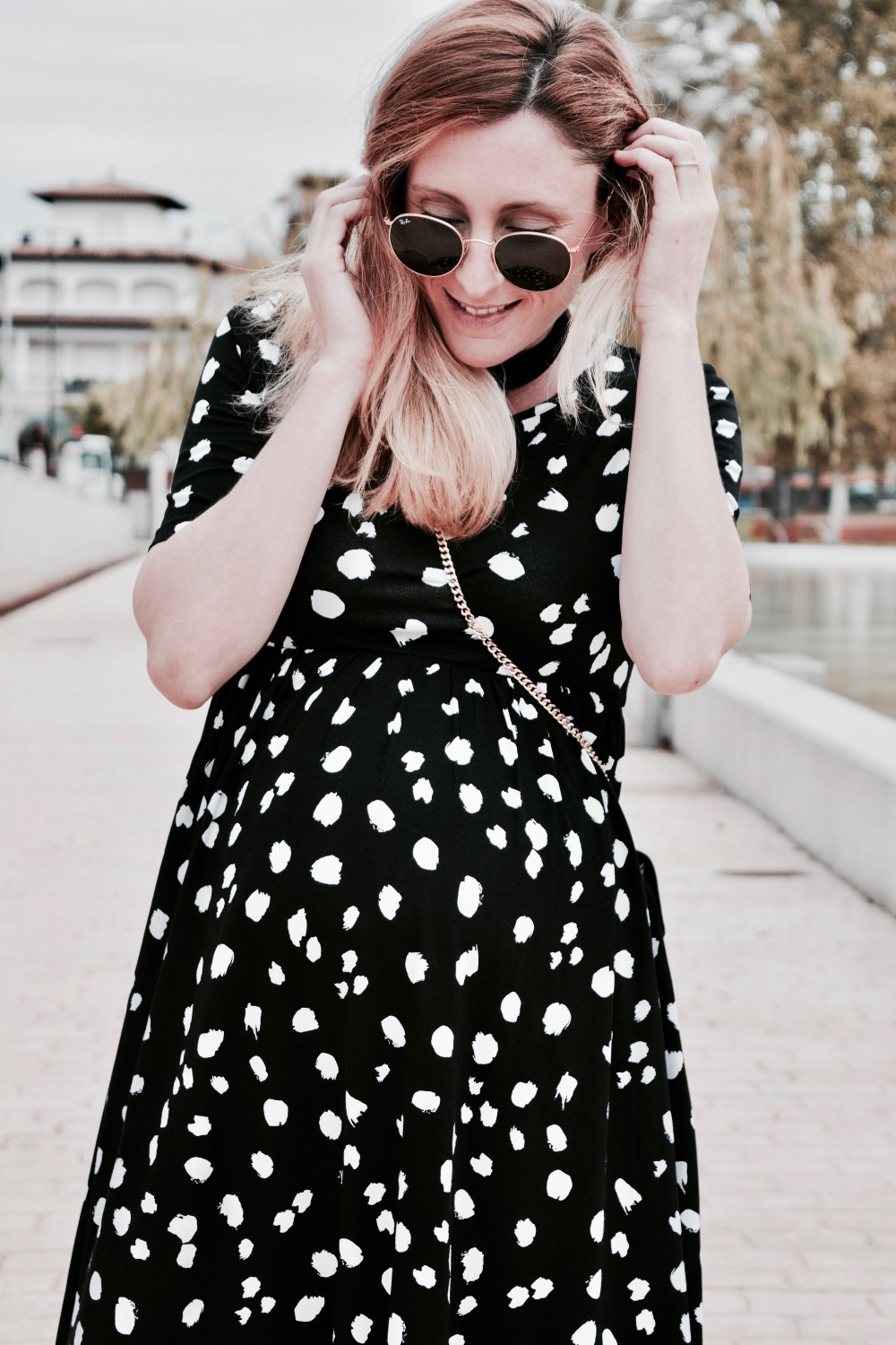 polka dot dress mommy paula casielles 12